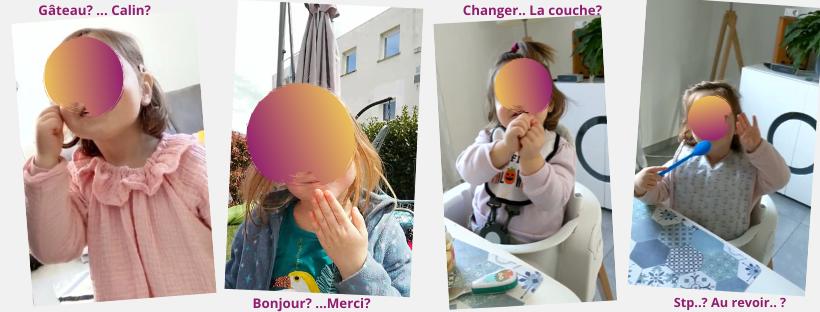 Langue des signes bébé chambéry
